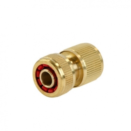 4trade Hose Connector With Water Stop 13mm