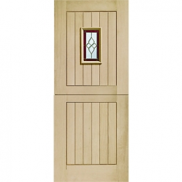 External Oak Chancery Stable Triple Glazed