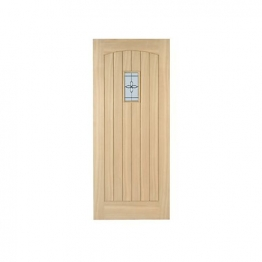 External Oak Croft Double Glazed Door