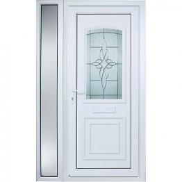 Medway Pre-hung Upvc Door 2085x1220mm Left Hand