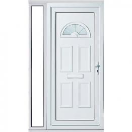 Carolina 1 Sidelight Upvc Doorset 1220mm Right Hand