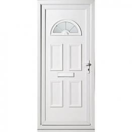 Carolina Pre-hung Upvc Doorset 920mm Left Hand