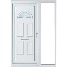 Carolina 1 Sidelight Upvc Doorset 1520mm Right Hand