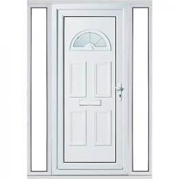 Carolina 2 Sidelight Upvc Doorset 1520mm Left Hand