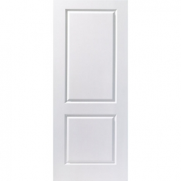 44mm Internal Moulded 2 Panel Smooth Fire Door. Imperial 6'6
