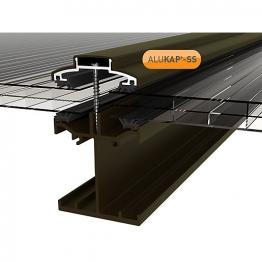 Alukap-ss Low Profile Bar 6.0m Brown