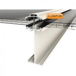 Alukap-ss High Span Bar 4.8m White