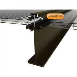 Alukap-ss High Span Bar 4.8m Brown