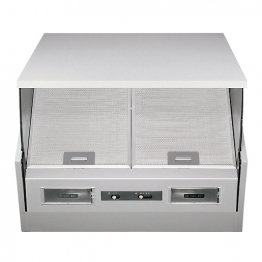 Neue 60 Cm Cooker Hood Integrated Silver - Ih601si