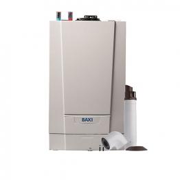 Baxi Ecoblue Advance 16kw Heat Only Boiler & Standard Telescopic Flue Pack Erp