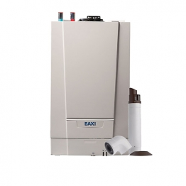 Baxi Ecoblue Advance 30kw Heat Only Boiler & Standard Telescopic Flue Pack Erp