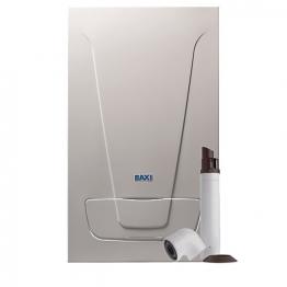Baxi Ecoblue Plus 28kw Combi Boiler & Standard Telescopic Flue Pack Erp