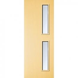 Internal Flush Ash Veneer Fd30 Fire Door 16g Clear Glazed 1981mm X 838mm X 44mm