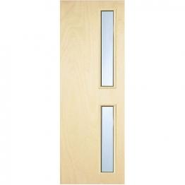 Internal Flush Pwd Paint Grade Fd30 Fire Door 16g Glazed Georgian 2040mm X 826mm X 44mm