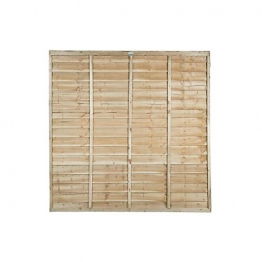 Super Lap Pressure Treated Fence Panel 1828mm X 1828mm