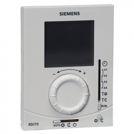 Siemens Rdj10 Electronic Programmable Room Thermostat