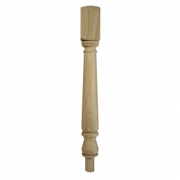 Richard Burbidge White Oak Top/bottom Newel Turn 725mm