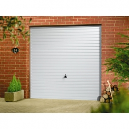 Garador Horizon Type C Steel Up & Over Garage Door White 2134mm X 2134mm