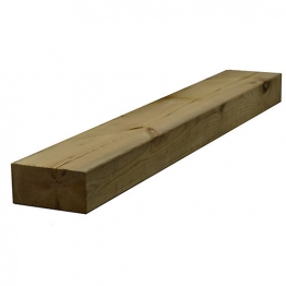Sawn Timber Regularised Treated C16/c24 75mm X 150mm X 4.8m
