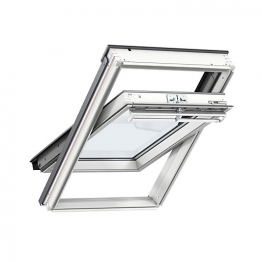 Velux Centre Pivot Roof Window 780mm X 1180mm White Painted Ggl Mk06 2060