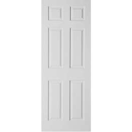 Moulded 6 Panel Grained Hollow Core Internal Door 2040mm X 626mm X 40mm