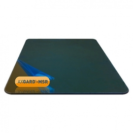 Axgard Msr Mirror Glazing Sheet 3mm 1500 X 320mm With Quarter Round Cnc Edge And Radius Corners