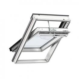 Velux Integra Roof Window 1340mm X 1400mm White Painted Ggl Uk08 206621u