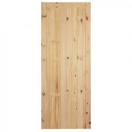 External Flb Redwood Framed Ledged & Braced Door 1981mm X 838mm X 44mm