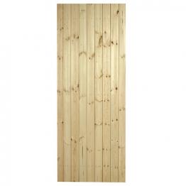 External Pine Ledged & Braced Door 1981mm X 762mm