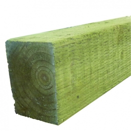 Treated Incised Uc4 Fence Post Green 75mm X 75mm X 1800mm
