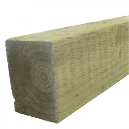 Treated Incised Uc4 Fence Post Green 75mm X 75mm X 3000mm
