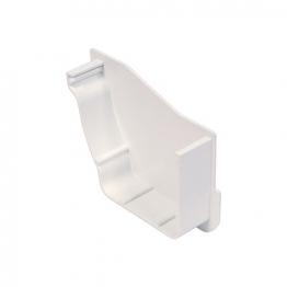 Osma Stormline 8t840 Internal Stopend Left-hand 111mm White