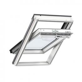Velux Integra Solar Roof Window 780mm X 980mm White Painted Ggl Mk04 207030