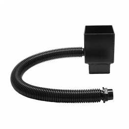 Alutec Flush Fit 72 X 72mm Rw Diverter Heritage Black