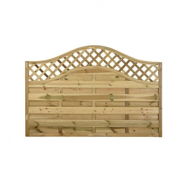 Pitsford Prague Pressure Treated Fence Panel 1800mm X 1200mm