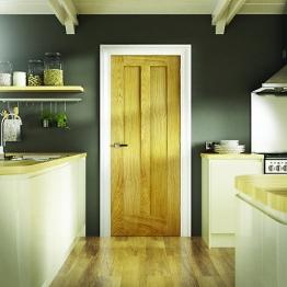 Moulded Oak 2 Panel Internal Door 1981mm X 610mm X 35mm
