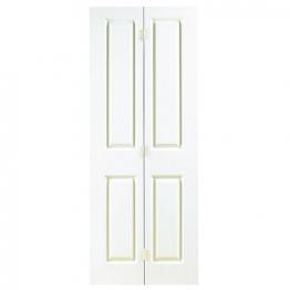 Moulded 4 Panel Grained Bi-fold Door 1981mm X 762mm X 35mm