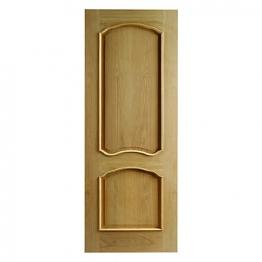 Hardwood Oak Louis Raised Mouldings Internal Door 1981mm X 762mm X 35mm