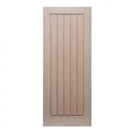 Hardwood Oak Suffolk Internal Door 1981mm X 762mm X 35mm