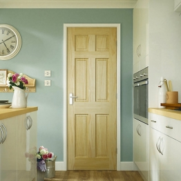 Softwood Colonial 6 Panel Clear Pine Internal Door 1981mm X 610mm X 35mm