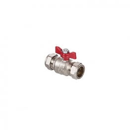 Altecnic Ai-373rb5 Intaball Compression Ball Valve Red T Bar Handle 15mm