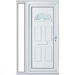 Carolina 1 Sidelight Upvc Doorset 1520mm Left Hand