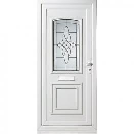 Medway Pre-hung Upvc Door 2085mm X 1520mm Left Hand