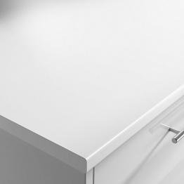 White 28mm Laminate Worktop Moisture Resistant Core 3000 X 600 X 28mm