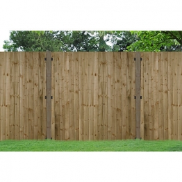 Pressure Treated Feather Edge Fence Panel 1500mm X 900mm