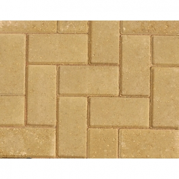 Marshalls Standard Concrete Block Paving Buff 200mm X 100mm X 50mm