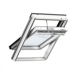 Velux Integra Solar Roof Window 550mm X 1180mm White Painted Ggl Ck06 206630