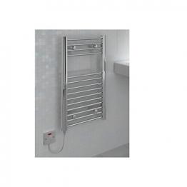 Straight Chrome Towel Rail 800 X 400mm