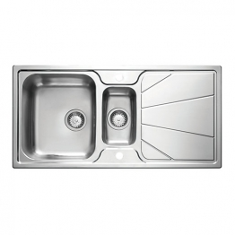 Korona 1.5 Bowl Stainless Steel Inset Sink