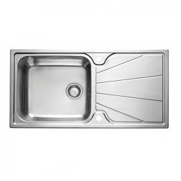 Korona 1.0 Bowl Stainless Steel Inset Sink